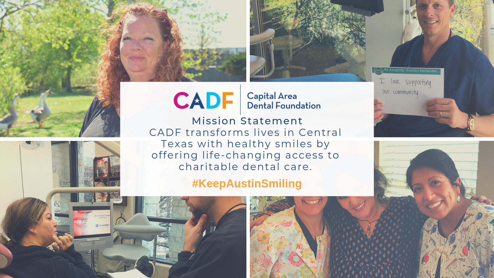 Give to Capital Area Dental Foundation | Amplify Austin