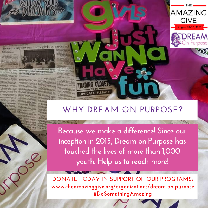 Give To Dream On Purpose The Amazing Give